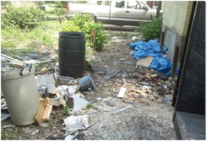 Rapid Rubbish Removal Yard waste